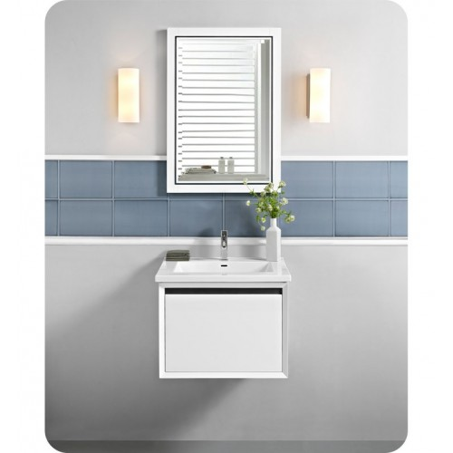 """Fairmont Designs 1525-WV24 m4 24"""" Wall Mount Vanity in Glossy White"""