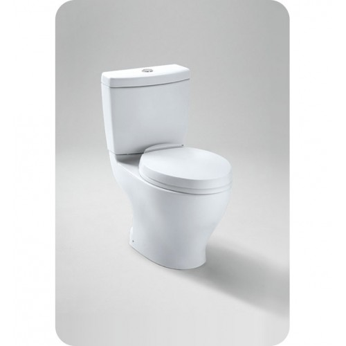 "TOTO CST412MF.10 Aquia® Dual Flush Toilet with 10"" Rough-in, 1.6GPF & 0.9GPF"