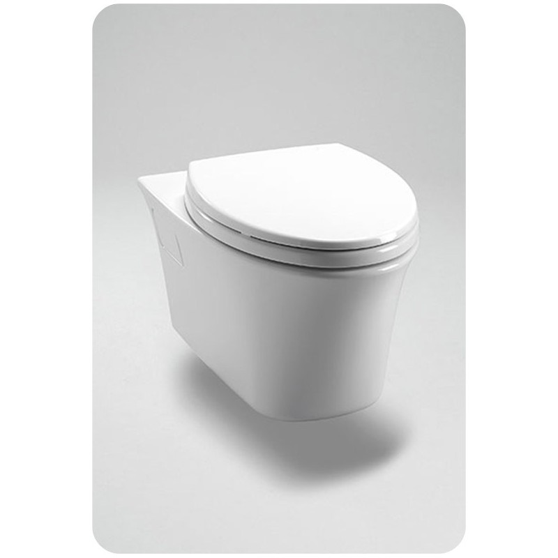 TOTO CT486FG Maris® Wall-Hung Dual-Flush Toilet, 1.6GPF & 0.9GPF