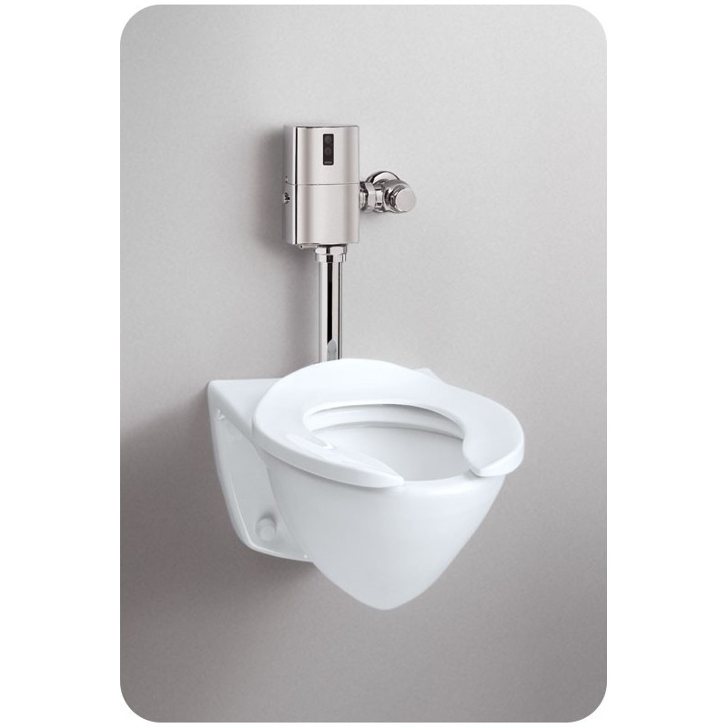 TOTO CT708EG Commercial Flushometer High Efficiency Toilet - 1.28 GPF, Top Inlet Spud