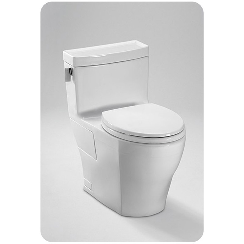 TOTO MS624214CEFG Legato™ One-Piece High-Efficiency Toilet, 1.28GPF