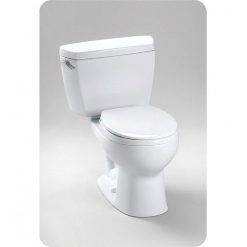 TOTO CST743SDB Drake® Toilet 1.6 GPF, with Insulated Tank and Bolt Down Lid