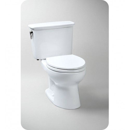 TOTO CST744EFRN.10 Eco Drake® Transitional Toilet, 1.28 GPF ADA Right Hand Trip Lever