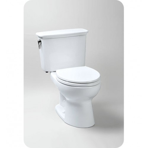 TOTO CST744EGN Eco Drake® Transitional Toilet, 1.28 GPF SanaGloss®