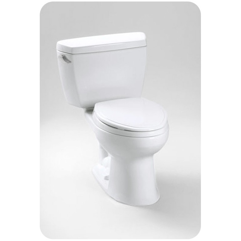 TOTO CST744SDB Drake® Toilet, 1.6 GPF with Insulated Tank and Bolt Down Lid