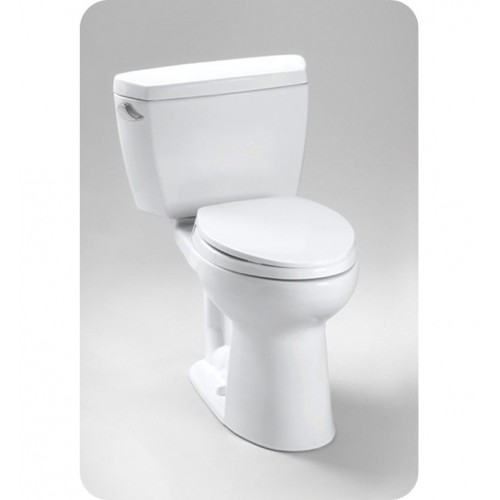 TOTO CST744SLDB Drake® Toilet, 1.6 GPF with Insulated Tank and Bolt Down Lid ADA