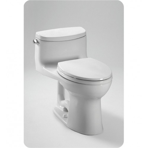 TOTO MS634114CEFG Supreme® II One-Piece High-Efficiency Toilet, with SanaGloss, 1.28GPF