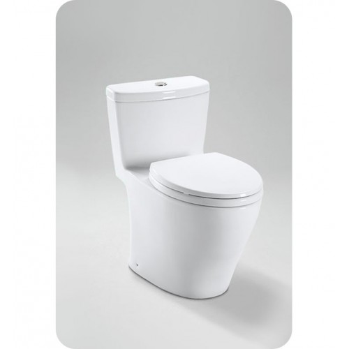 TOTO MS654114MF Aquia® One-Piece Toilet, 1.6GPF & 0.9GPF