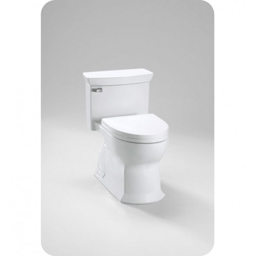 TOTO MS964214CEFG Eco Soirée® One Piece Toilet, Universal Height, 1.28 GPF