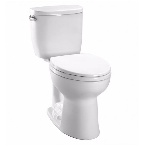 TOTO CST243EF Entrada™ Close Coupled Round Toilet 1.28GPF