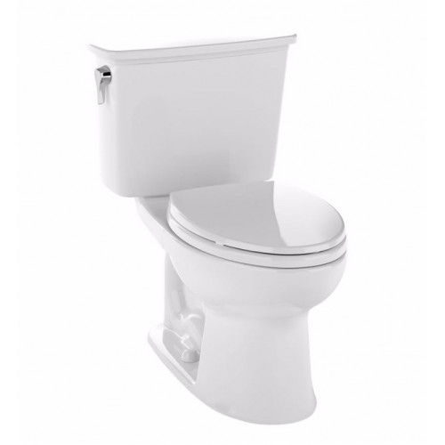 TOTO CST744ELN Eco Drake® Transitional Two-Piece Toilet, 1.28 GPF