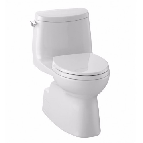TOTO MS614114CUFG01 Carlyle® II 1G One-Piece Toilet, 1.0 GPF, Elongated Bowl in Cotton