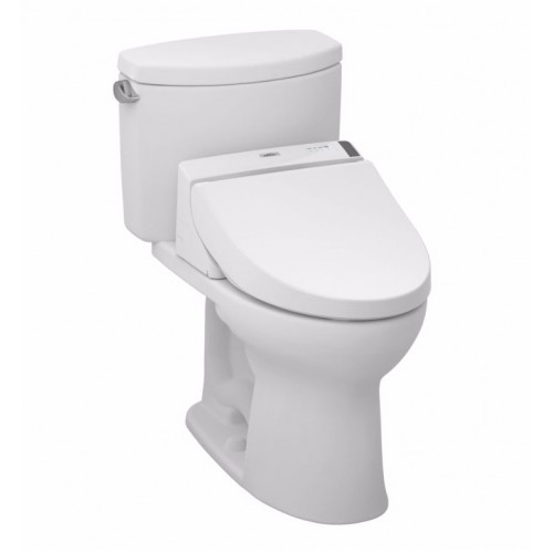 TOTO MW4542044CEFG01 Drake® II Connect+™ C200 Two-Piece Toilet - 1.28 GPF in Cotton with Washlet