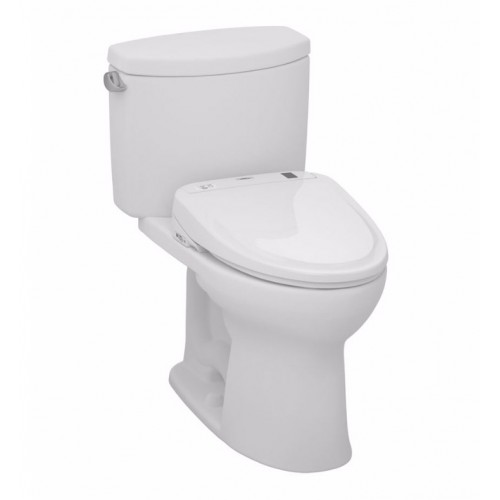 TOTO MW454574CEFG01 Drake® II Connect+™ S300e Two-Piece Toilet - 1.28 GPF in Cotton with Washlet