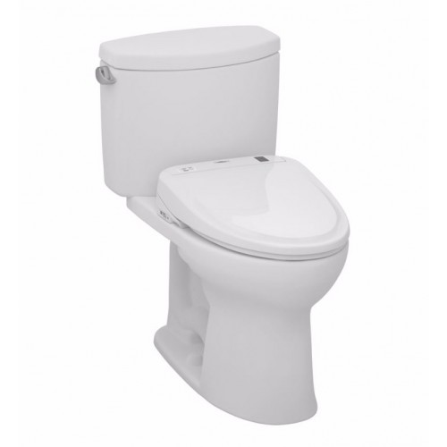 TOTO MW454584CEFG01 Drake® II Connect+™ S350e Two-Piece Toilet - 1.28 GPF in Cotton with Washlet