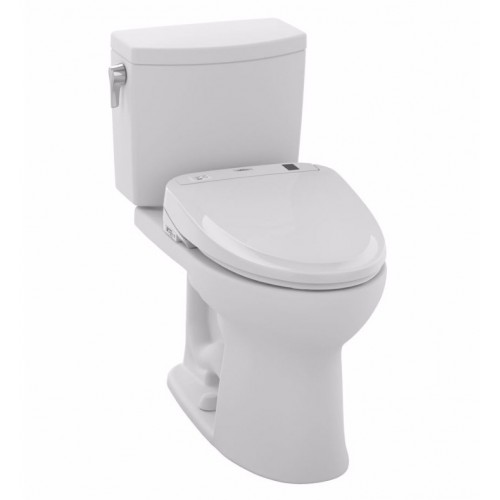 TOTO MW454584CUFG01 Drake® II 1G Connect+™ S350e Two-Piece Toilet - 1.0 GPF in Cotton with Washlet