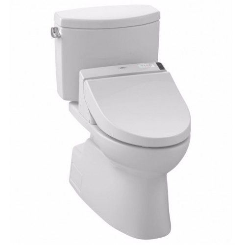 TOTO MW4742044CEFG01 Vespin® II Connect+™ C200 Two-Piece Toilet - 1.28 GPF in Cotton with Washlet