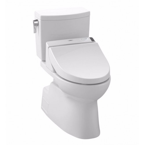 TOTO MW4742044CUFG01 Vespin® II 1G Connect+™ C200 Two-Piece Toilet - 1.0 GPF in Cotton with Washlet