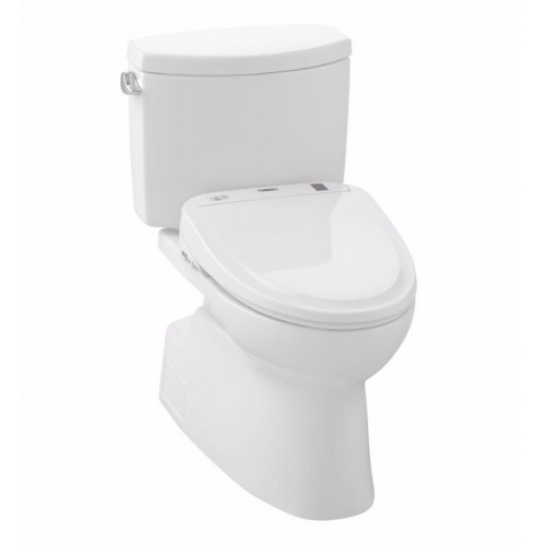 TOTO MW474574CEFG01 Vespin® II Connect+™ S300e Two-Piece Toilet - 1.28 GPF in Cotton with Washlet