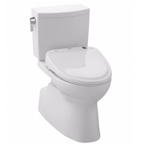 TOTO MW474574CUFG01 Vespin® II 1G Connect+™ S300e Two-Piece Toilet - 1.0 GPF in Cotton with Washlet
