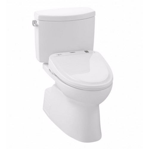 TOTO MW474584CEFG01 Vespin® II 1G Connect+™ S350e Two-Piece Toilet - 1.28 GPF in Cotton with Washlet