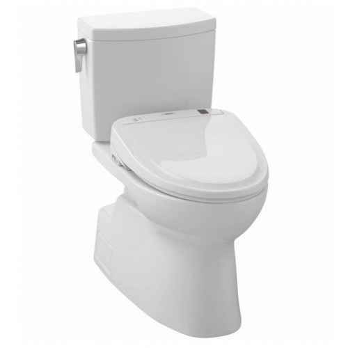 TOTO MW474584CUFG01 Vespin® II 1G Connect+™ S350e Two-Piece Toilet - 1.0 GPF in Cotton with Washlet
