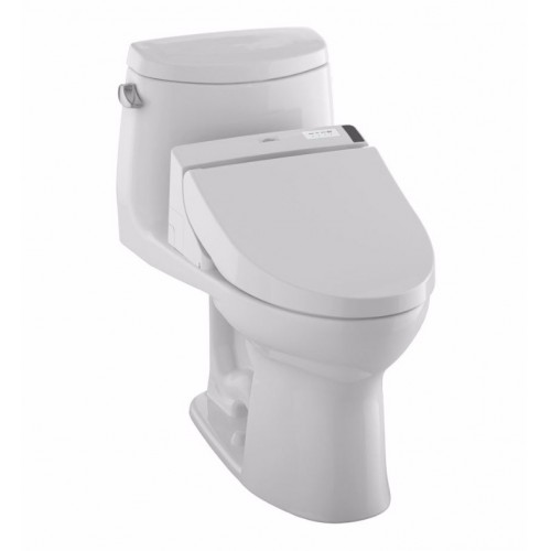 TOTO MW6042044CEFG01 UltraMax II Connect+™ C200 One-Piece Toilet - 1.28 GPF in Cotton with Washlet