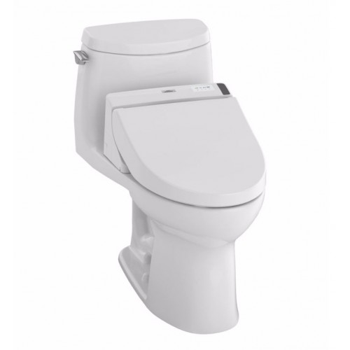 TOTO MW6042044CUFG01 UltraMax II 1G Connect+™ C200 One-Piece Toilet - 1.0 GPF in Cotton with Washlet