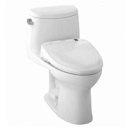 TOTO MW604584CEFG01 UltraMax II Connect+™ S350e One-Piece Toilet - 1.28 GPF in Cotton with Washlet