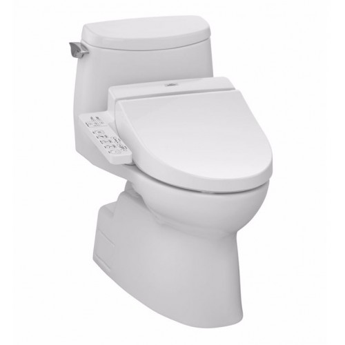 TOTO MW6142034CUFG01 Carlyle® II 1G Connect+™ C100 One-Piece Toilet - 1.0 GPF in Cotton with Washlet