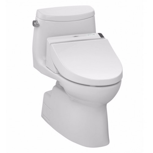 TOTO MW6142044CEFG01 Carlyle® II Connect+™ C200 One-Piece Toilet - 1.28 GPF in Cotton with Washlet
