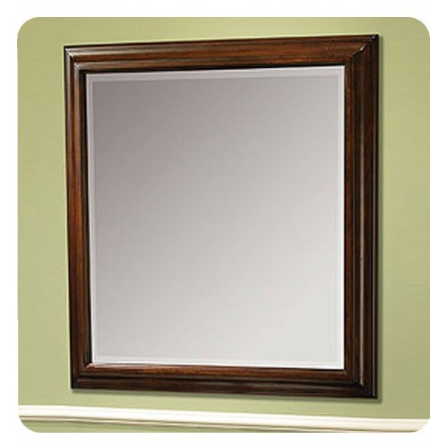 """Fairmont Designs 159-M32 Newhaven 32"""" Traditional Mirror in Nutmeg"""