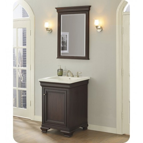 "Fairmont Designs 1529-V24 Providence 24"" Traditional Vanity in Aged Chocolate"