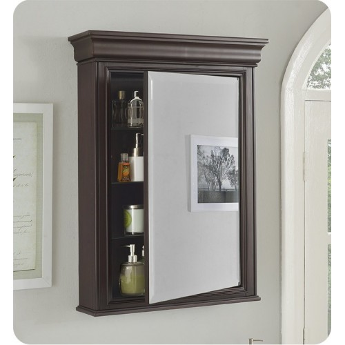 """Fairmont Designs 1529-MC24 Providence 24"""" Traditional Medicine Cabinet in Aged Chocolate"""