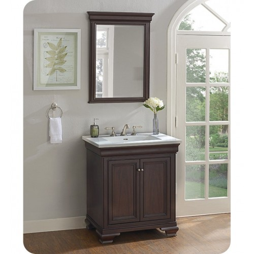 "Fairmont Designs 1529-V30 Providence 30"" Traditional Vanity in Aged Chocolate"