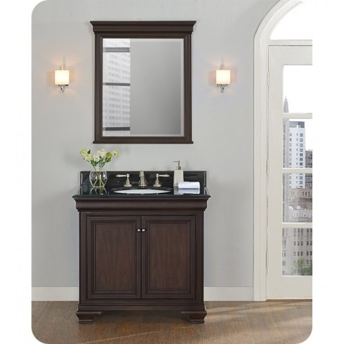 "Fairmont Designs 1529-V36 Providence 36"" Traditional Vanity in Aged Chocolate"