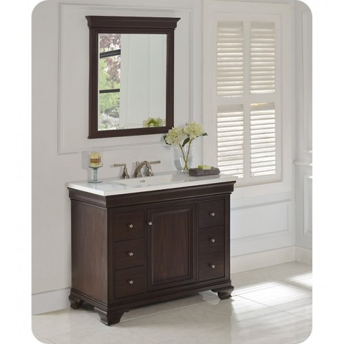 "Fairmont Designs 1529-V42 Providence 42"" Traditional Vanity in Aged Chocolate"
