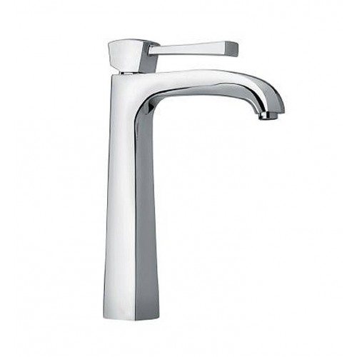 "LaToscana 89PW205LL Lady Single Handle Tall Lavatory Faucet 11"" in Brushed Nickel"