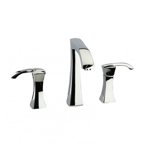 """LaToscana 89CR214 Lady Widespread Lavatory Faucet 8"""" in Chrome"""