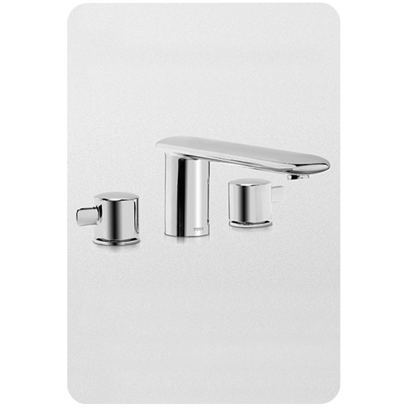 TOTO TB416DD Aquia® Deck-Mount Tub Filler Trim