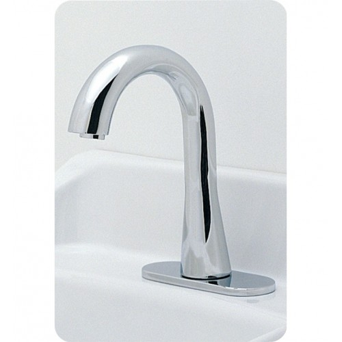 TOTO TEL3GG10 Gooseneck EcoPower Faucet - Single Supply