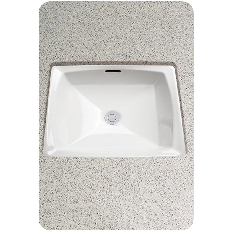 TOTO LT491G Connelly™ Undercounter Lavatory, with SanaGloss - ADA
