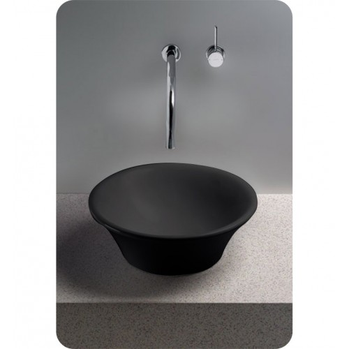 TOTO LT524 Alexis® Vessel Lavatory in Ebony Black