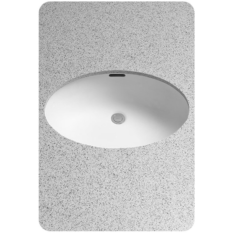 TOTO LT548G Undercounter Lavatory with SanaGloss® - ADA