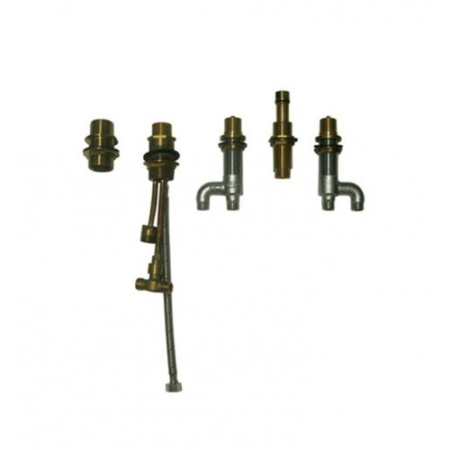 TOTO TB6FR Deck-Mount Bath Faucet with Lever Handles, Hand Shower and Diverter Valve