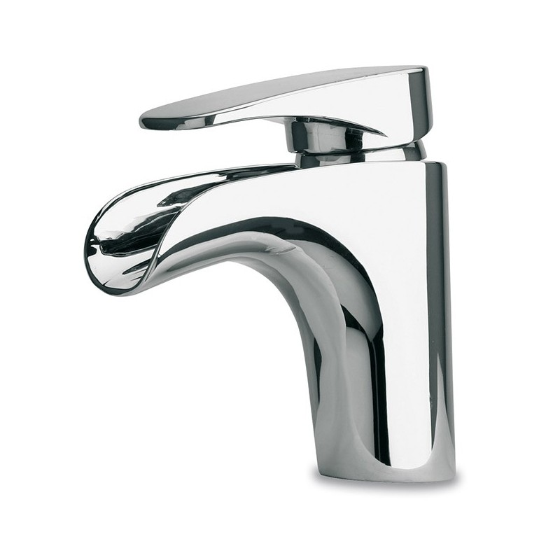 LaToscana 86CR211WF Novello Waterfall Single Handle Lever Handle Lavatory Faucet in Chrome