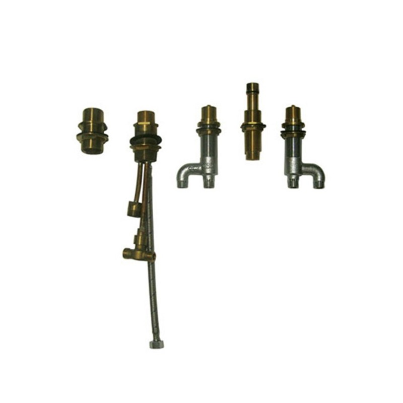TOTO TB7FR Deck-Mount Bath Faucet with Lever Handles, Hand Shower and Diverter Valve