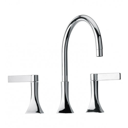 LaToscana 85CR214 Elix Widespread Lavatory Faucet in Chrome