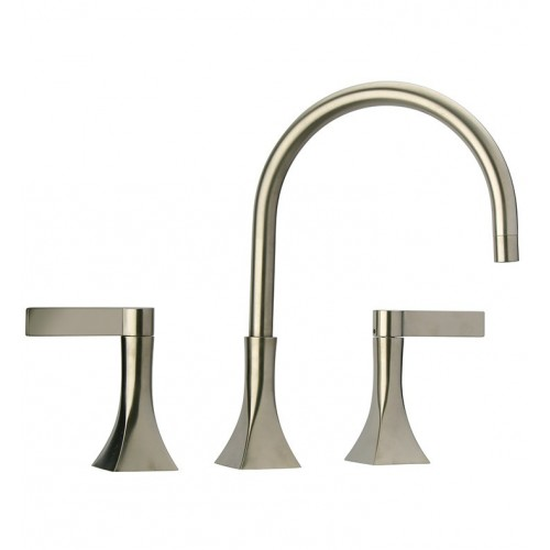 LaToscana 85PW214 Elix Widespread Lavatory Faucet in Brushed Nickel