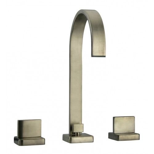 LaToscana 86PW214 Novello Widespread Lavatory Faucet with Handles in Brushed Nickel